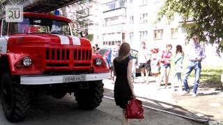 Пожар на Пролетарской: загорелась квартира «пятиэтажки»