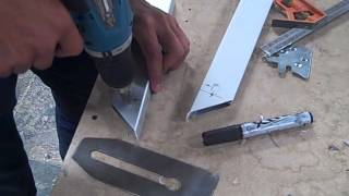 armado puertas de aluminio