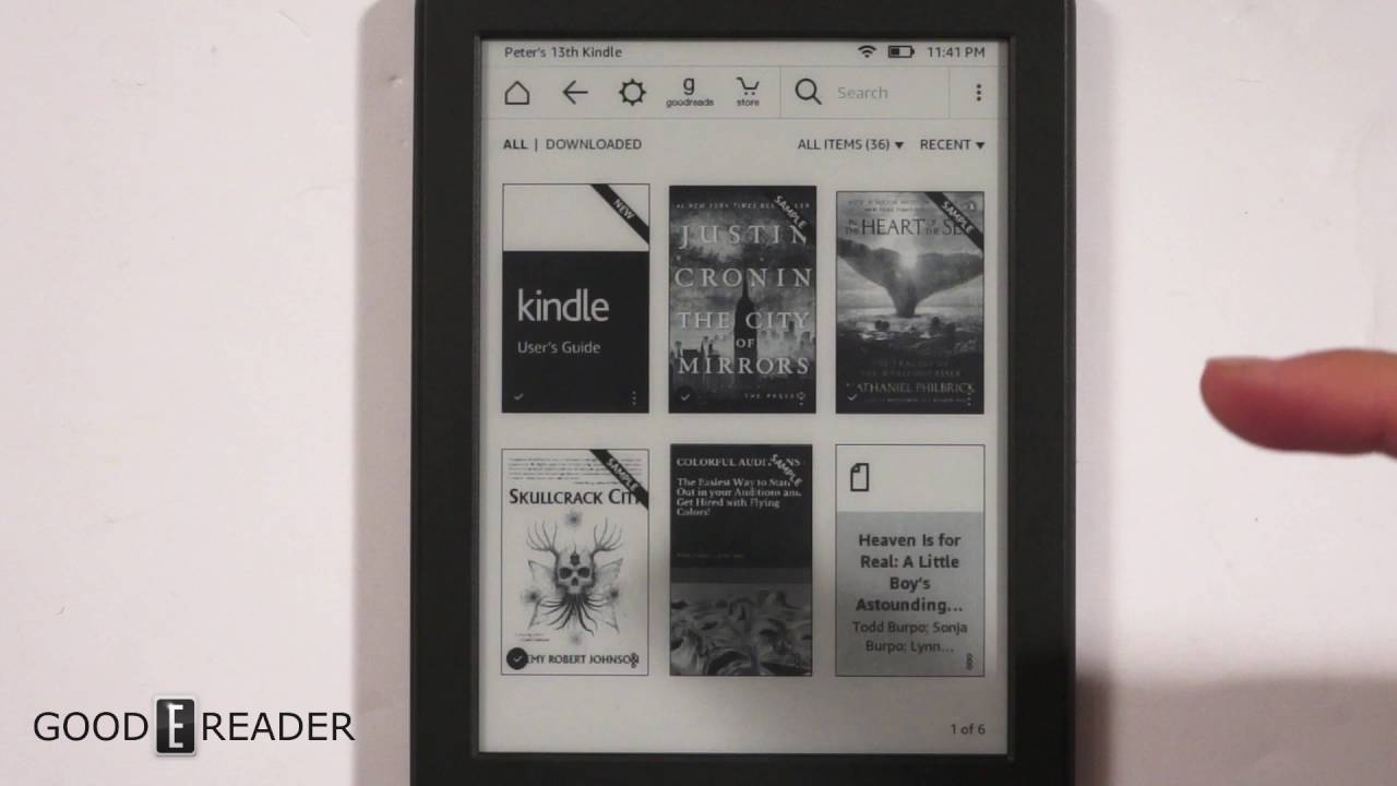 Amazon kindle th generation review youtube
