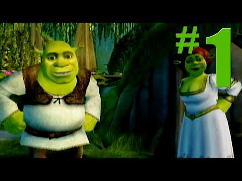 Shrek 2: Game Walkthrough Part 1 - Shrek's Swamp - No Commentary Gameplay (Gamecube/Xbox/PS2)