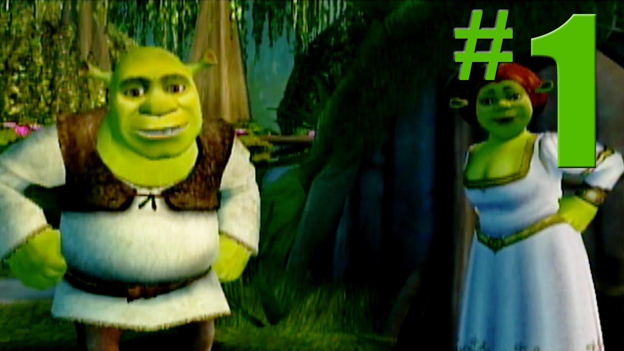 Shrek 2: Game Walkthrough Part 1 - Shrek's Swamp - No Commentary Gameplay ( Gamecube/Xbox/PS2) - YouTube