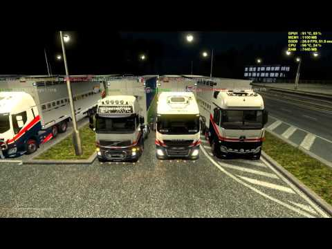 Euro Truck Simulator 2 Death Highway [TRANSCONTINENTAL]