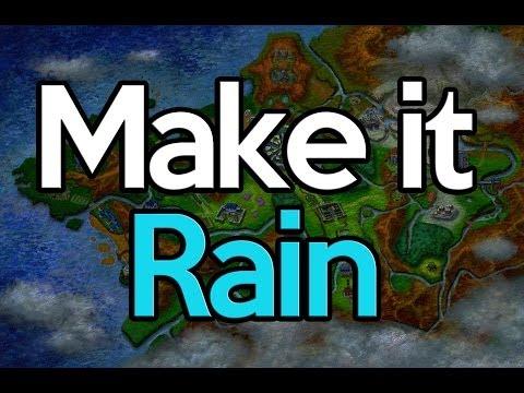 How to Make it Rain in Pokemon X and Y (Evolve Sliggoo)