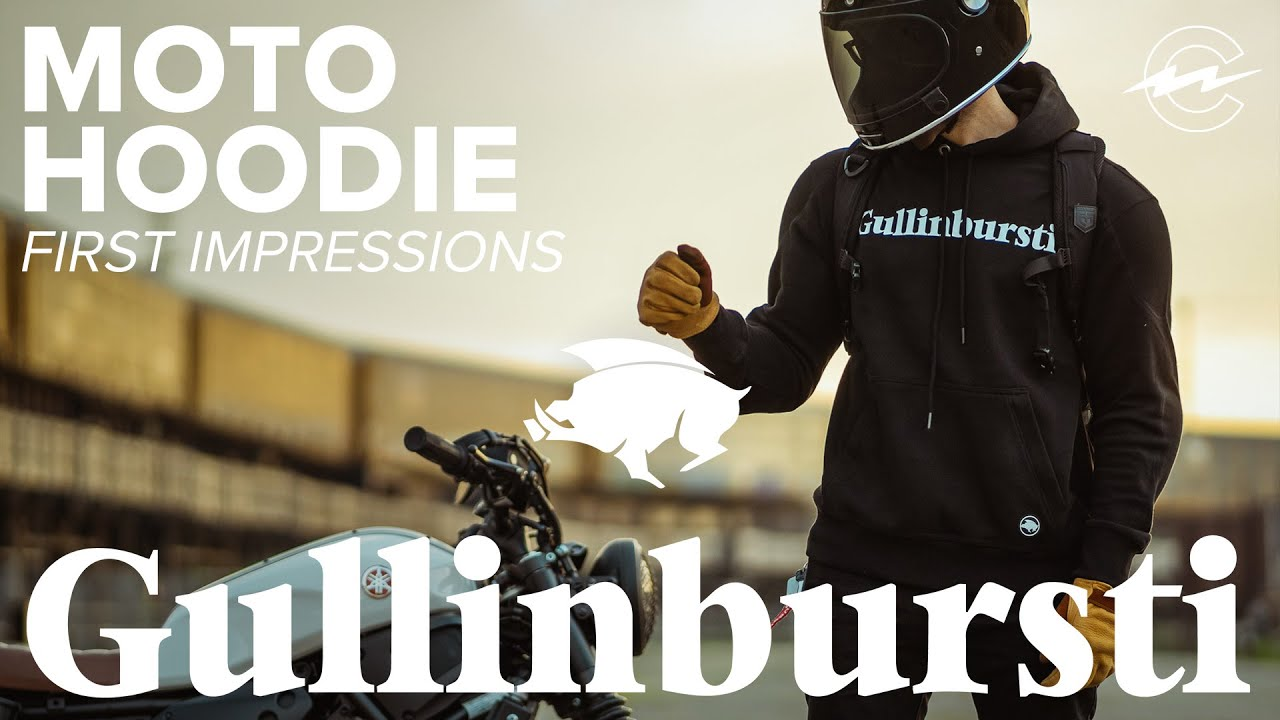 MOTORCYCLE PROTECTIVE HOODIE GULLINBURSTI - First Impressions, So Soft
