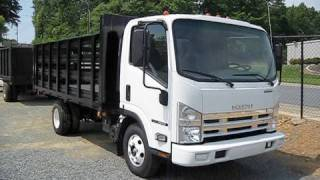 2008 Isuzu NPR 6.0 Stake Bed Start Up, Exhaust, and In Depth Tour