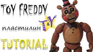 - Как слепить Той Фредди из пластилина Туториал Toy Freddy from clay Tutorial