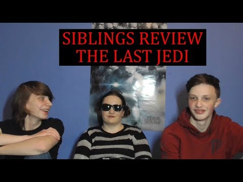 SIBLINGS REVIEW THE LAST JEDI | Let's Chat Cinema