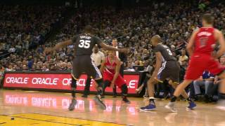 Mccollum crosses by kd and lays it in | 12.17.16