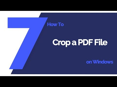 How To Crop  PDF File On Windows | PDFelement 7