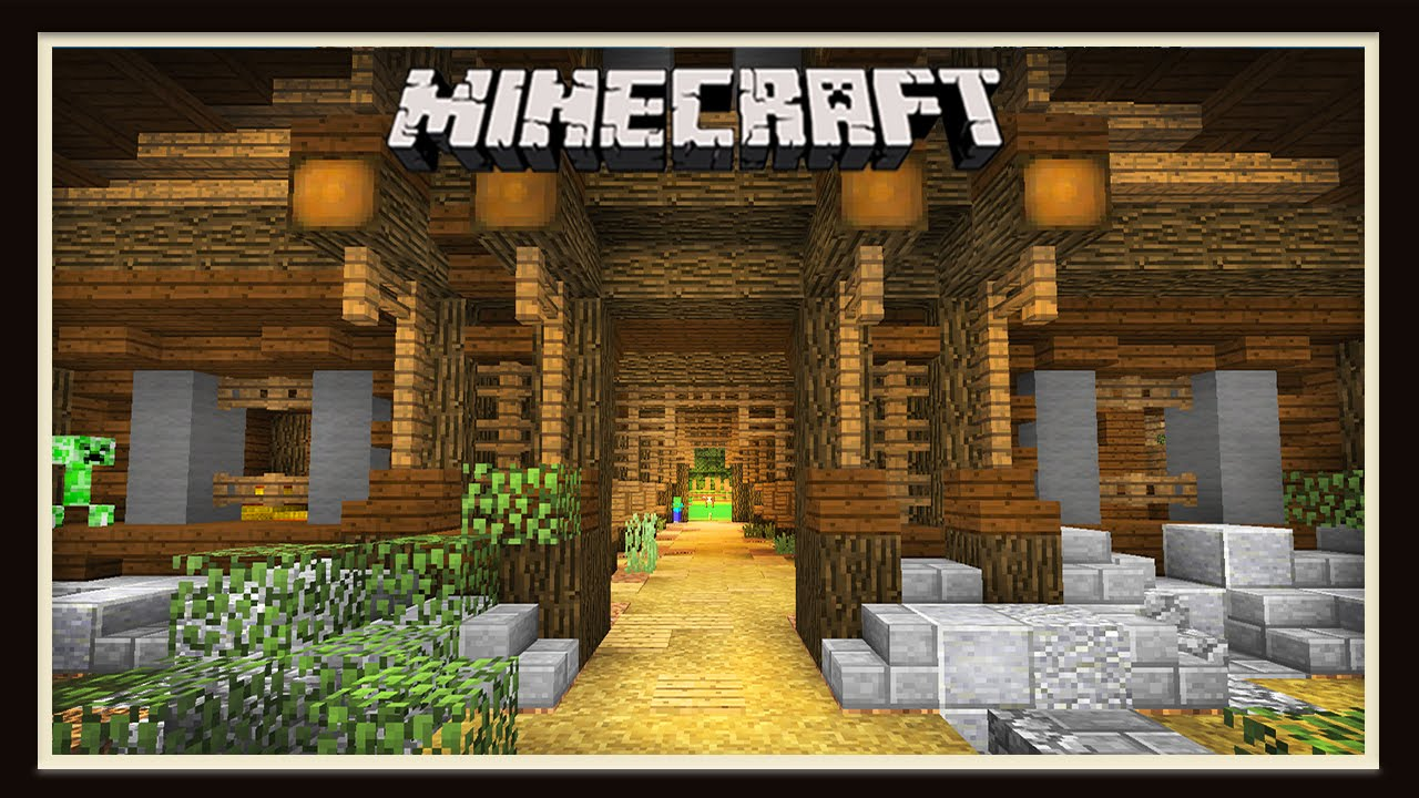 Minecraft Building An Awesome Barn And Stables