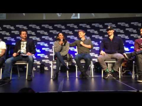 Candice Patton Rick Cosnett Heroes & Villains  Fest San Jose