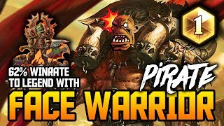 Face Warrior! 62% Winrate to LEGEND | Rank 2 - Legend | Kobolds & Catacombs | Season 46