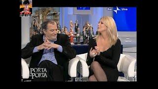 Eleonora Daniele e Michela Vittoria Brambilla porta aporta pantyhose