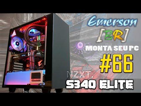 💻 EmersonBR Monta Seu PC #66 - PC do Juan - NZXT S340 Optimus Prime