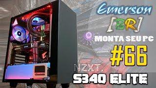EmersonBR Monta Seu PC 66 PC do Juan NZXT S340 Optimus Prime