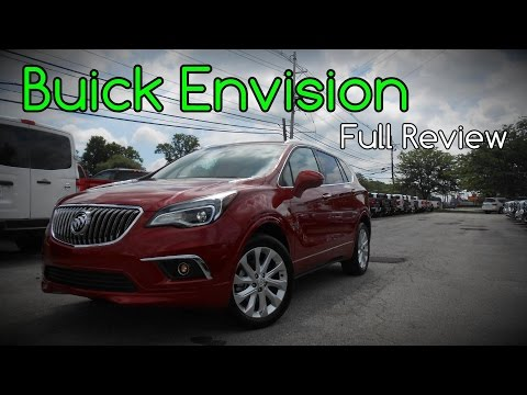 2016 Buick Envision: Full Review | Premium Group 1 & Premium Group 2