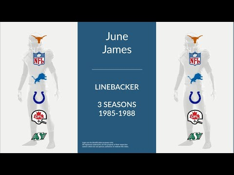 June James: Football Linebacker