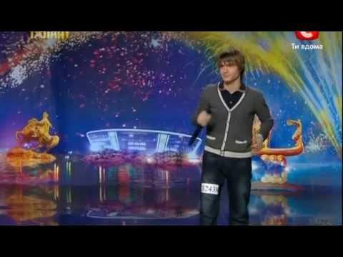 Видео, Украина мае талант 4  Киев  Андрей Будник