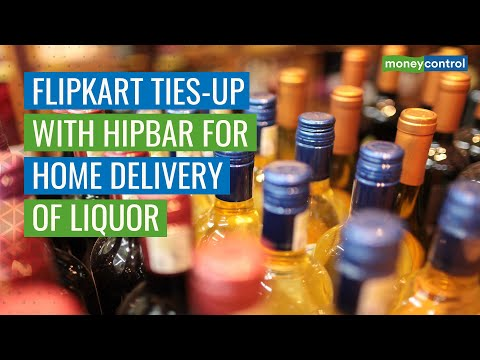 Hipbar Partners With Walmart's Flipkart For Home Delivery Of Alcohol