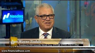 FinancialBuzz.com Exclusive CEO Interview Scientific Metals Corp. (TSX-V: STM)(OTCQB: SCTFF)(26X.F)