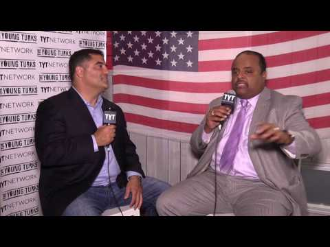 Roland Martin Interview Cenk Uygur At The Republican National Convention