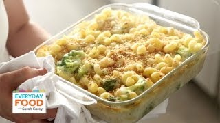 Mac And Cheese Recipe - Lighter Three-cheese Mac - Everyday Food With Sarah Carey