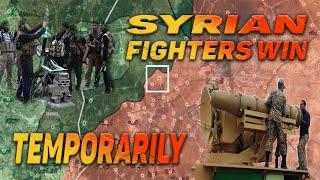 Сирия - Сирийские боевики (HTS) громят (САА) и занимают город и территории  на Юго-Востоке Идлиба