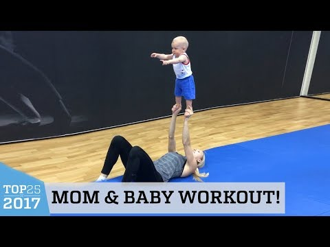 Amazing Fit Mom Routine | Top 25 of 2017