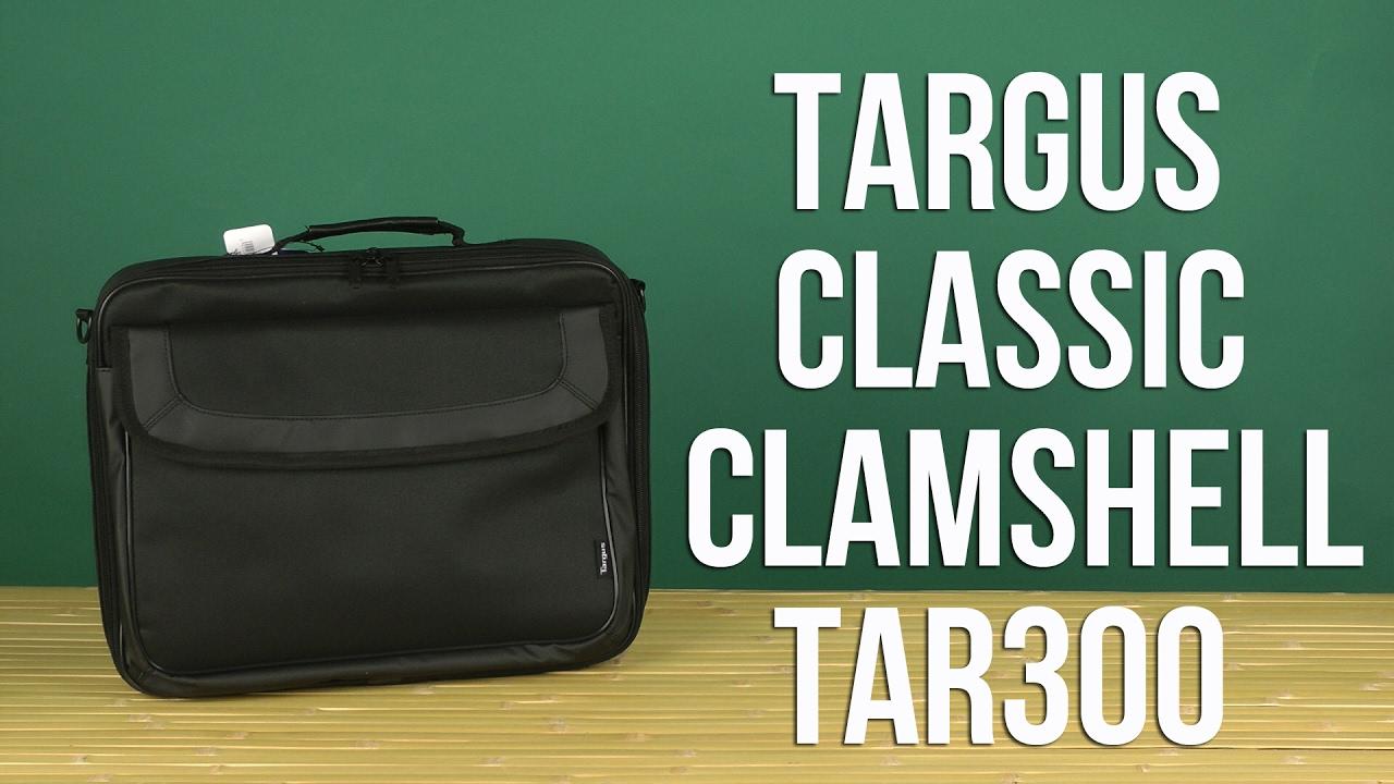 dab995b9c379 Распаковка Targus Classic ClamShell 15.6