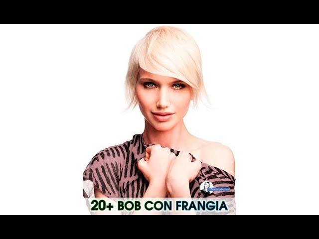 Taglio Bob Con Frangia 2020