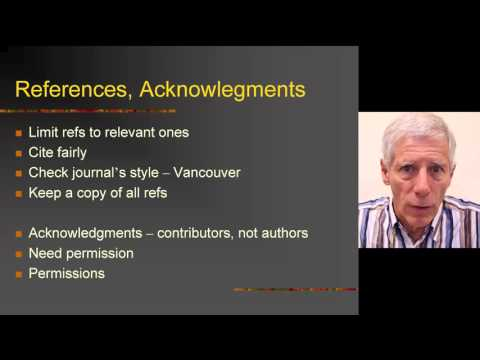 Module 3 - Day 6 - 1 - Bits and pieces: abstract, title, funding, authorship