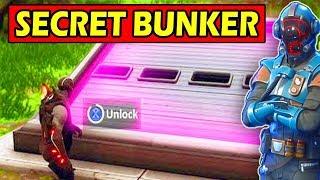 SECRET BUNKER will be OPENED! *SEASON 6* Fortnite Season 5 Storyline
