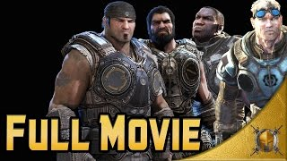 Gears of War Ultimate Edition (PC) - Full Movie - Insane - Gameplay Walkthrough [1080p 60fps]