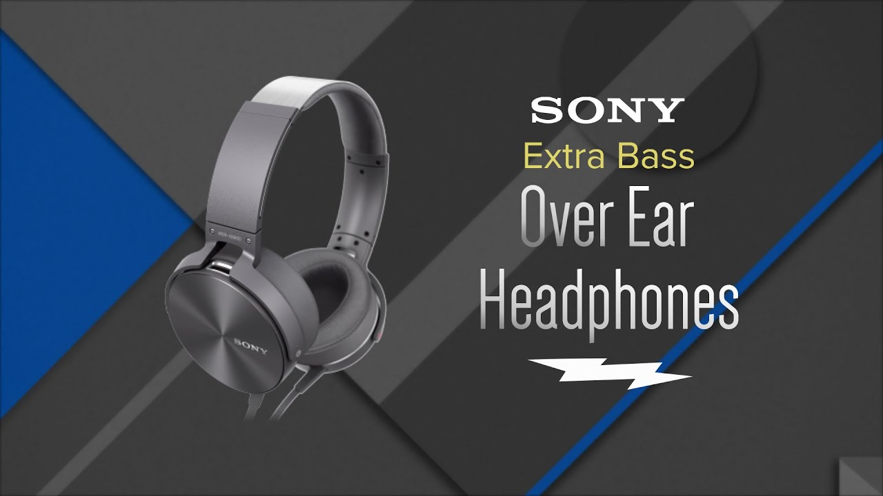 35a44306212 Sony Extra Bass Bluetooth Over-Ear Wireless Headphones MDR-XB950 - Overview