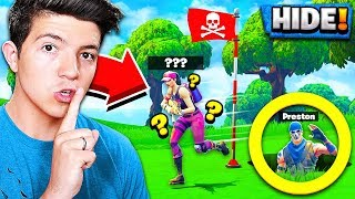 ULTIMATE HIDING SPOT in Fortnite PLAYGROUND v2 MODE! *NEW* HIDE & SEEK Gamemode!