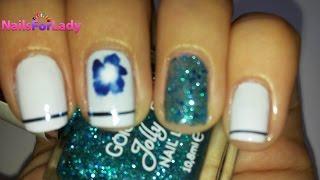 Как нарисовать цветок на ногтях/How to paint flower on your nails(В этом видео я покажу как можно нарисовать цветок на ногтях kak narisovat cverok na nogtiah, modnij manikiur 2015., 2015-08-11T10:54:16.000Z)