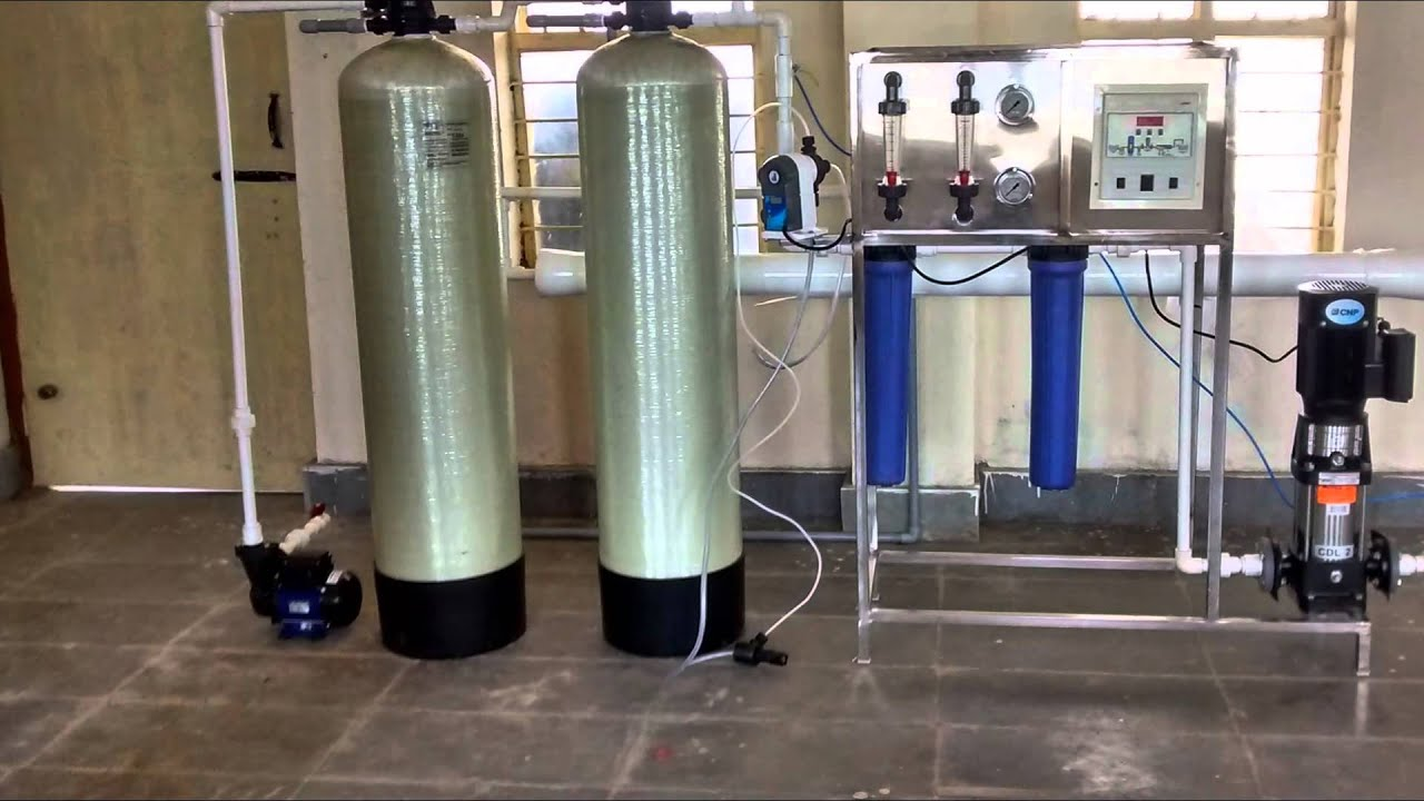 RO PLANT semi automatic 500 liter per hour Drinking water plant
