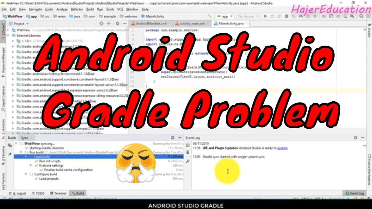 Android Studio Gradle Problem | Gradle   حل مشكلة
