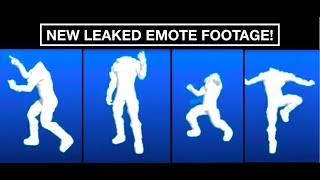 *NEW* Fortnite Season 4 LEAKED EMOTE/DANCE FOOTAGE! (SNAP, DIP, TAKE14, ZANY)