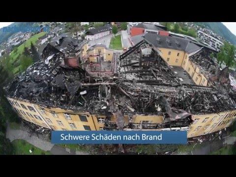 Schloss Ebenzweier nach Brand schwer beschädigt