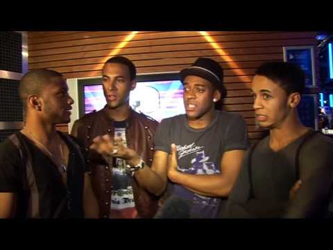 JLS interview - boys up for tripple Brit glory