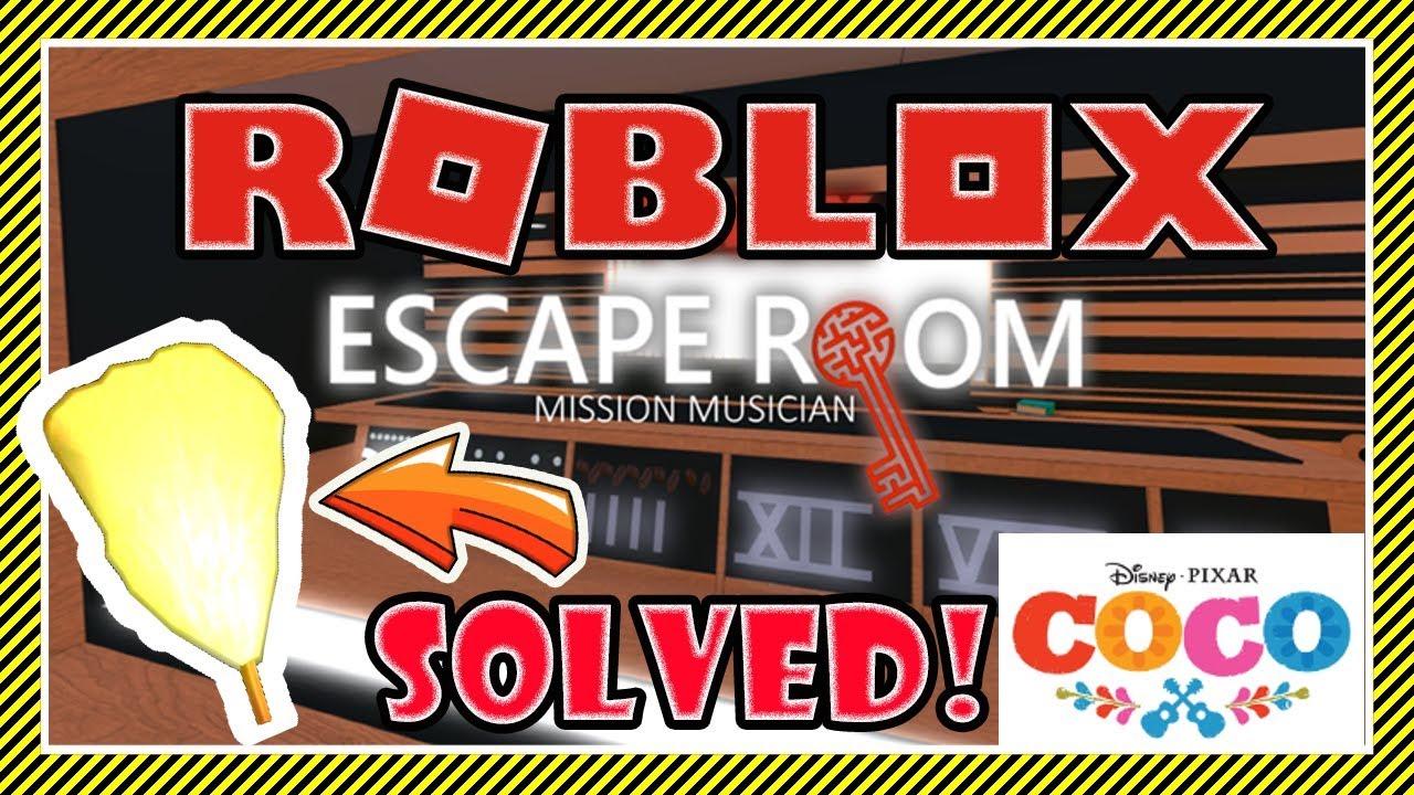 How To Escape Mission Musician Escape Room Roblox