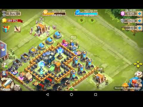 How To Switch Another Account At CASTLE CLASH