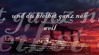 """Ich singe die deutsche Version von """"My heart will go on"""""""