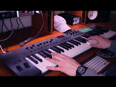 Nektar Impact LX61+ Midi Controller Review and Demo