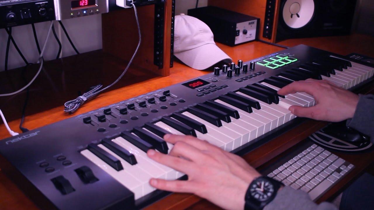 Usb Midi Keyboard Controller Mit Daw Integration Nektar Impact Lx61 Musikinstrumente