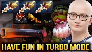 MATUMBAMAN is Having Fun in Turbo Mode with SNIPER 3x RAPIER Dota 2