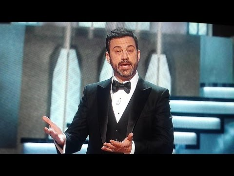 Thumbnail: Jimmy kimmel DISSES Matt Damon, Trump and others AT THE OSCARS 2017 WOW!