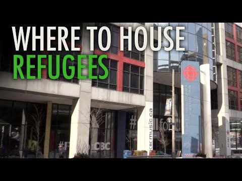 Ezra Levant: Let's house refugees in CBC buildings!