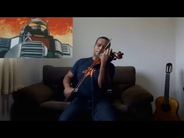 Jaspion / Changeman - Tema de abertura (violino cover) Jaspion / Changeman  - オープニングテーマ(ヴァイオリンカバー)